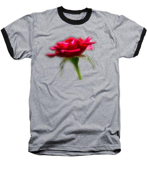 The Rose  Tee-shirt Baseball T-Shirt by Donna Brown