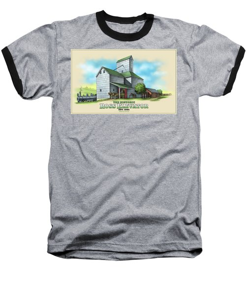 The Ross Elevator Baseball T-Shirt by Scott Ross