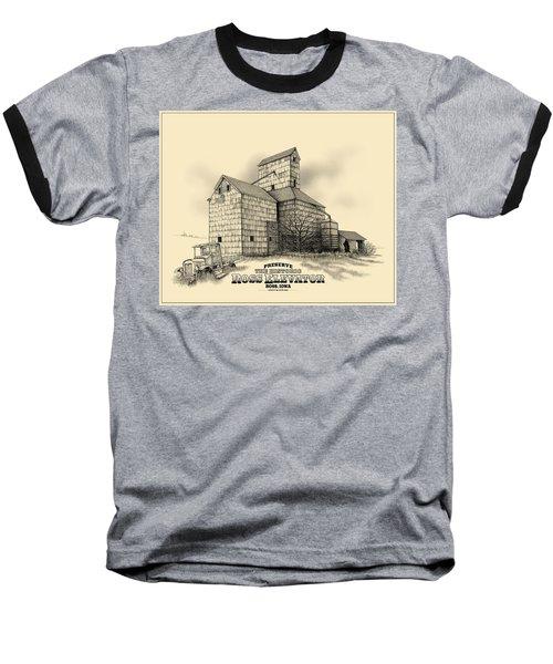 The Ross Elevator Version 2 Baseball T-Shirt