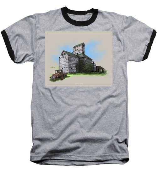 The Ross Elevator Version 5 Baseball T-Shirt by Scott Ross