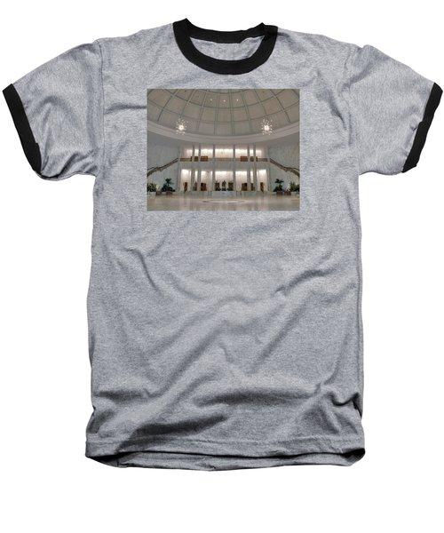 The Rotunda 8 X 10 Crop Baseball T-Shirt by Mark Dodd