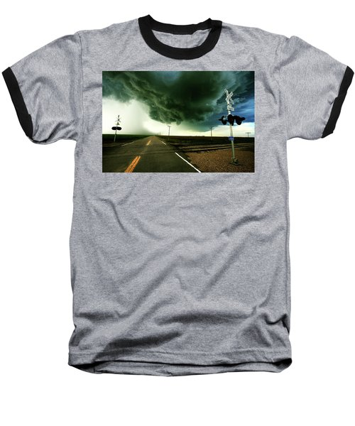 The Rough Road Ahead Baseball T-Shirt