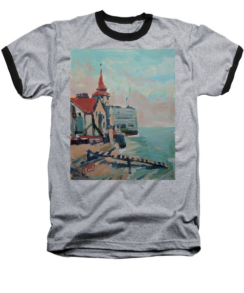 The Round Tower Of Portsmouth Baseball T-Shirt