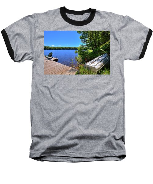 Baseball T-Shirt featuring the photograph The Rowboat On West Lake by David Patterson