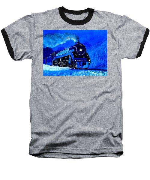The Royal Blue Express Baseball T-Shirt