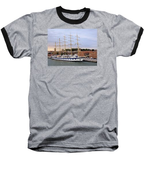 The Royal Clipper Docked In Venice Italy Baseball T-Shirt