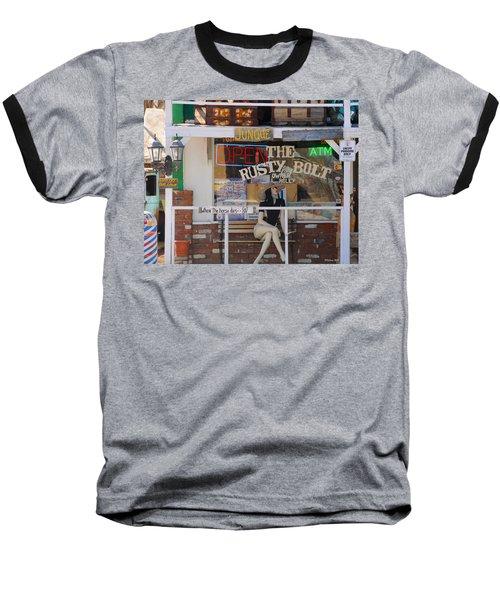 The Rusty Bolt - Seligman, Historic Route 66 Baseball T-Shirt