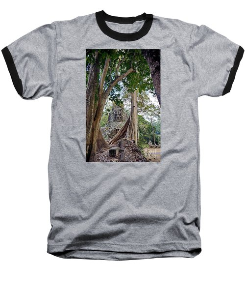 Baseball T-Shirt featuring the photograph The S Gate by Arik S Mintorogo