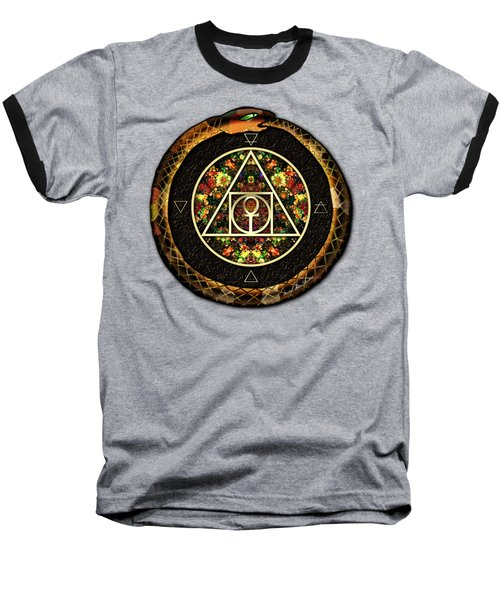 The Sacred Alchemy Of Life Baseball T-Shirt by Iowan Stone-Flowers