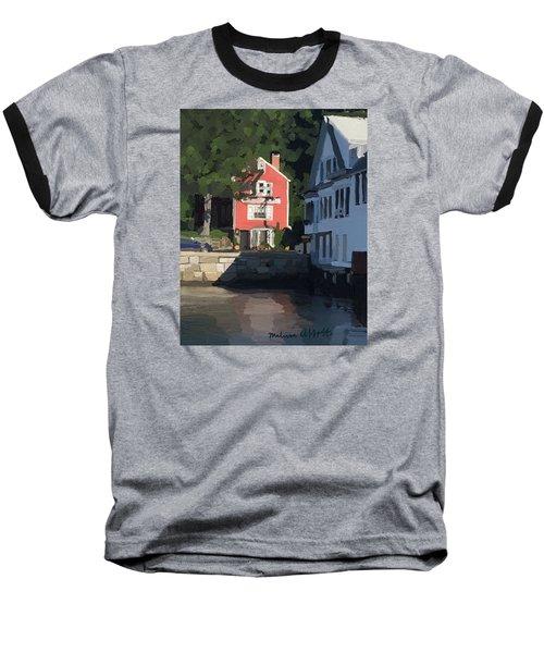 The Sacred Cod And Beacon Marine Basin Baseball T-Shirt