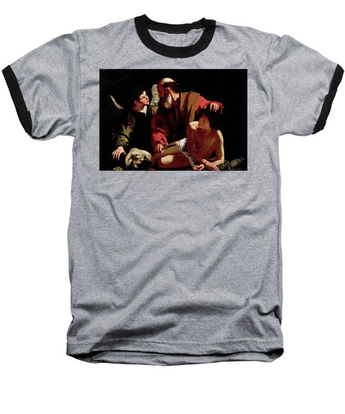 The Sacrifice Of Isaac Baseball T-Shirt