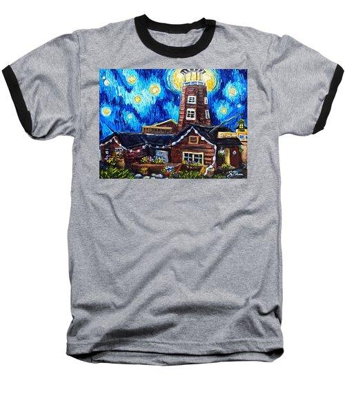 The Salty Dog Saloon Baseball T-Shirt