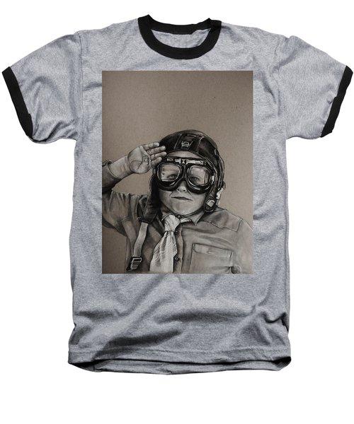 The Salute Baseball T-Shirt