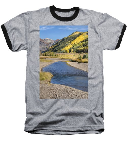 The San Miguel In Autumn Baseball T-Shirt