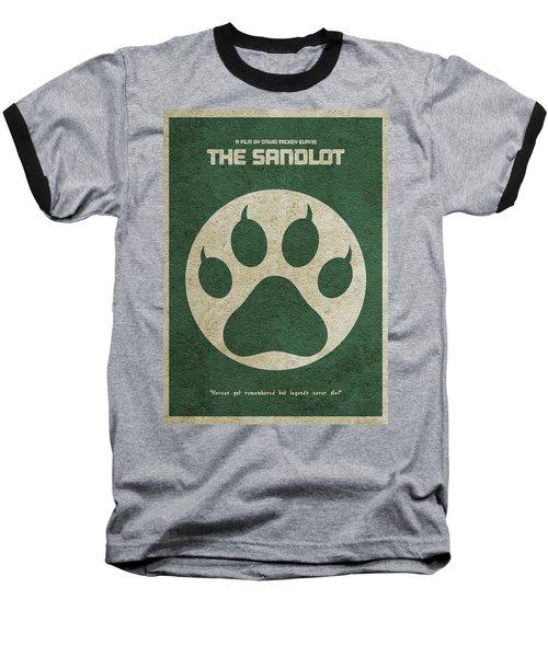 The Sandlot Alternative Minimalist Movie Poster Baseball T-Shirt
