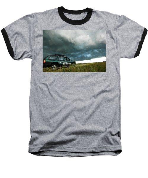 The Saskatchewan Whale's Mouth Baseball T-Shirt by Ryan Crouse