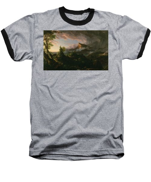 The Savage State Baseball T-Shirt