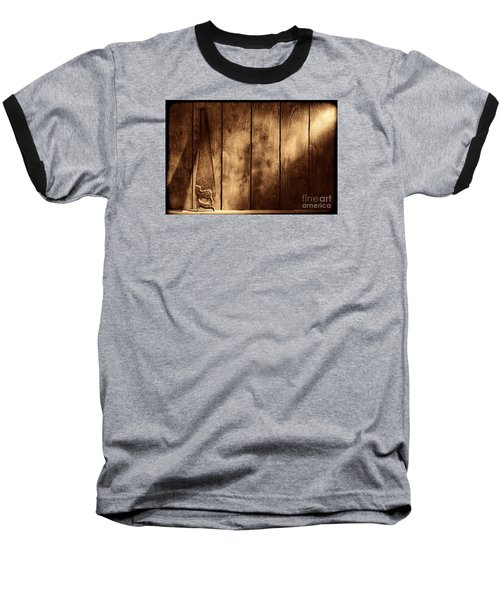 The Saw Baseball T-Shirt by American West Legend By Olivier Le Queinec