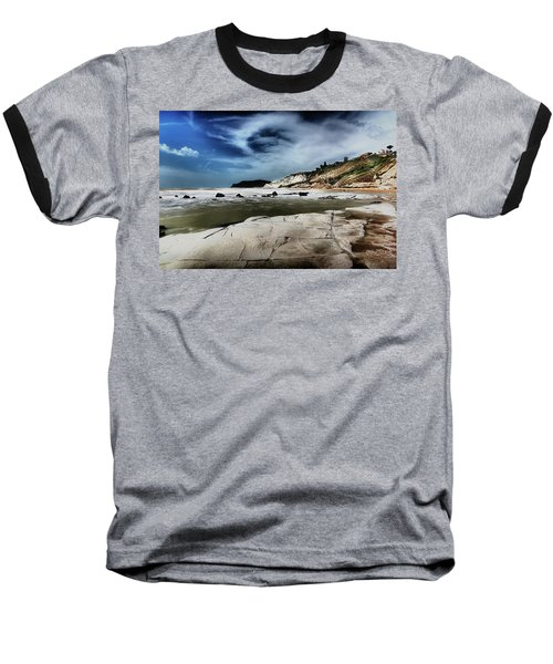 The Scala Dei Turchi II Baseball T-Shirt by Patrick Boening