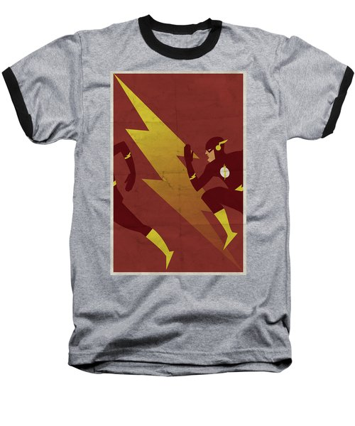 The Scarlet Speedster Baseball T-Shirt