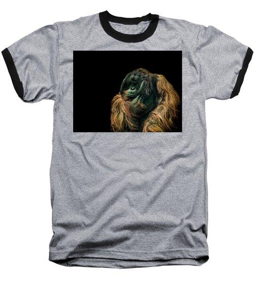 The Sceptic Baseball T-Shirt by Paul Neville