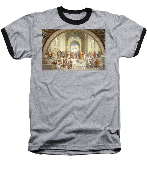 The School Of Athens, Raphael Baseball T-Shirt