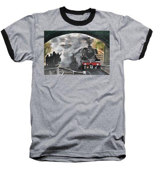 The Scotsman Baseball T-Shirt by Carole Robins