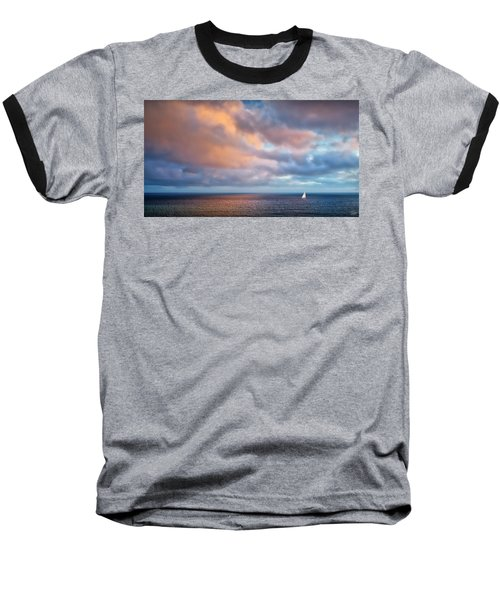 The Sea At Peace Baseball T-Shirt