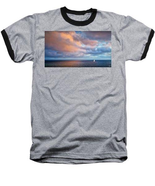 The Sea At Peace Baseball T-Shirt