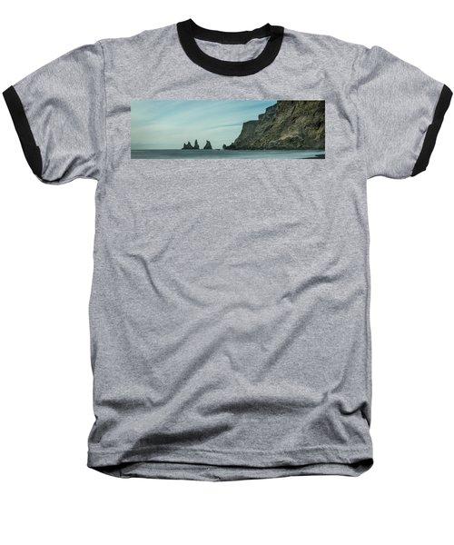 The Sea Stacks Of Vik, Iceland Baseball T-Shirt