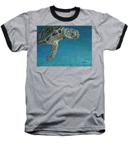 The Giant Sea Turtle Baseball T-Shirt