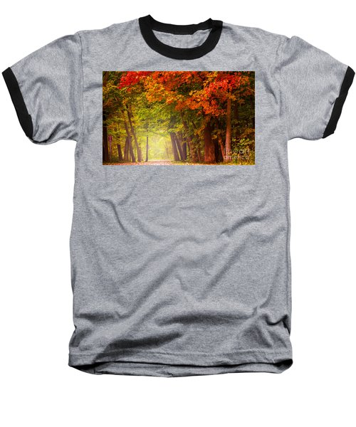 The Secret Place Baseball T-Shirt by Rima Biswas