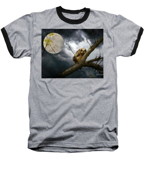 The Seer Of Souls Baseball T-Shirt by Heather King