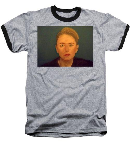 The Serious Lady Baseball T-Shirt