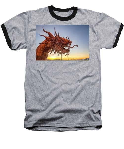 The Serpent At Sunrise #3 Baseball T-Shirt