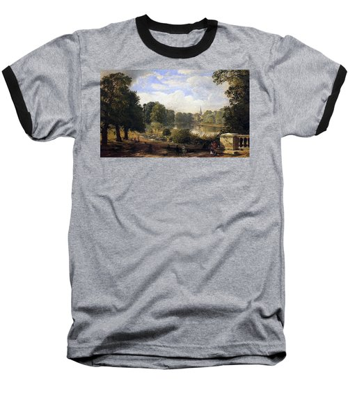 The Serpentine Baseball T-Shirt by Jasper Francis Cropsey