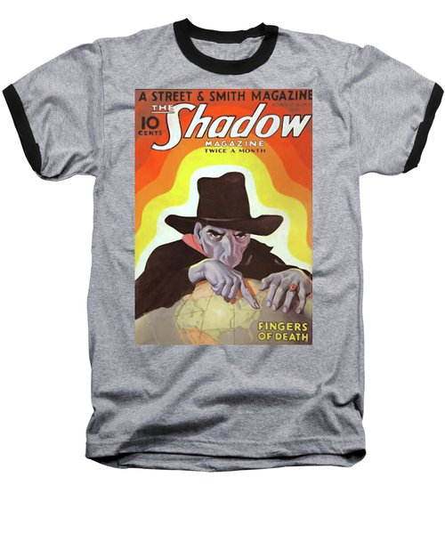 The Shadow Fingers Of Death Baseball T-Shirt