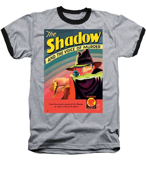 Baseball T-Shirt featuring the painting The Shadow by George Rozen