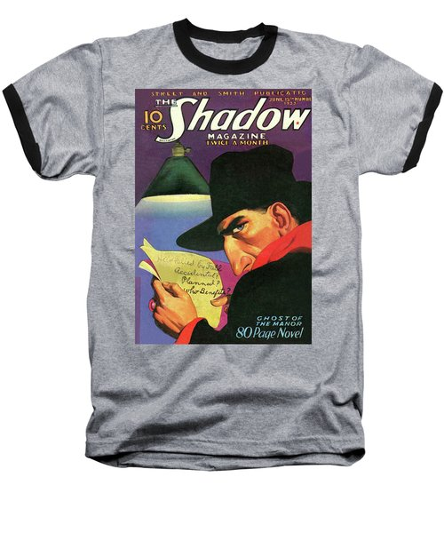 The Shadow Ghost Of The Manor Baseball T-Shirt