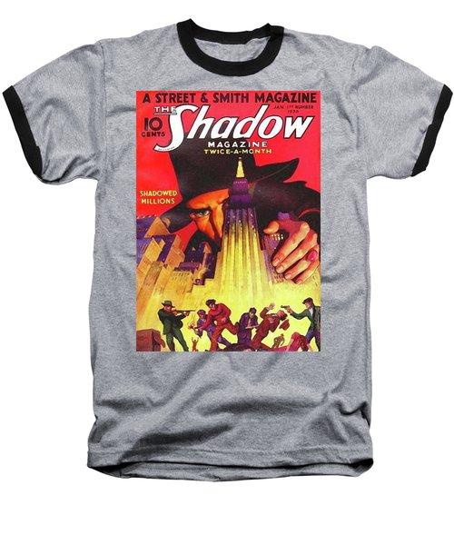 The Shadow Shadowed Millions Baseball T-Shirt