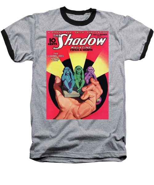 The Shadow The Living Joss Baseball T-Shirt