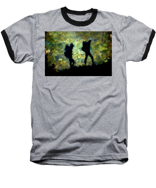 The Shadowalkers Baseball T-Shirt