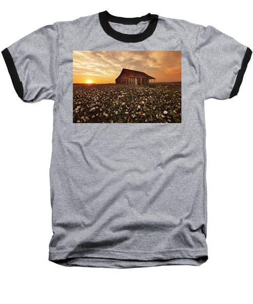 The Sharecropper Shack Baseball T-Shirt