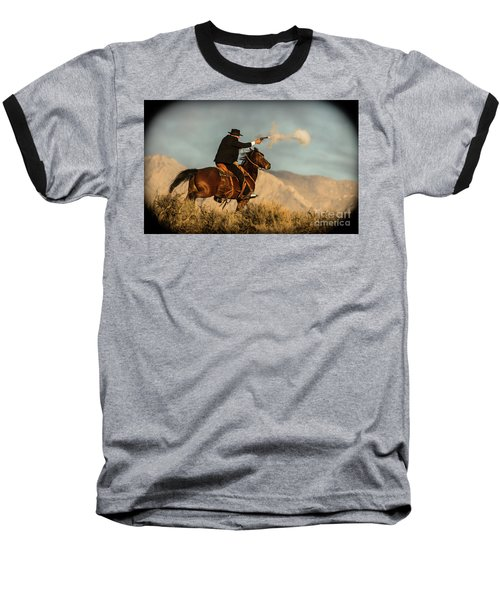 The Sharp Shooter Western Art By Kaylyn Franks Baseball T-Shirt