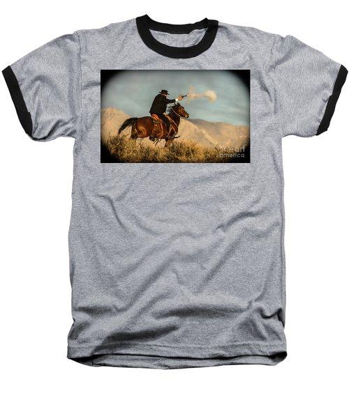 The Sharp Shooter Western Art By Kaylyn Franks Baseball T-Shirt