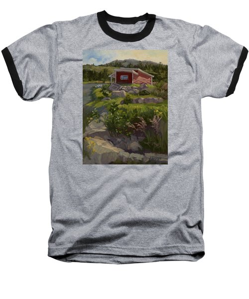 The Shed Baseball T-Shirt by Jane Thorpe