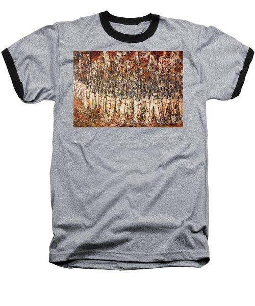 The Shield Wall Baseball T-Shirt