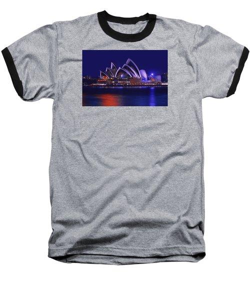The Shining Star Baseball T-Shirt by Midori Chan