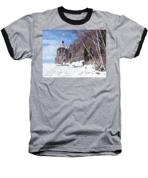 The Shoreline Lighthouse Baseball T-Shirt