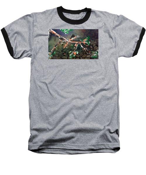 The   Shy   Introbird Baseball T-Shirt